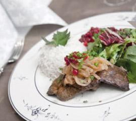 Lunch MENU in finnish
